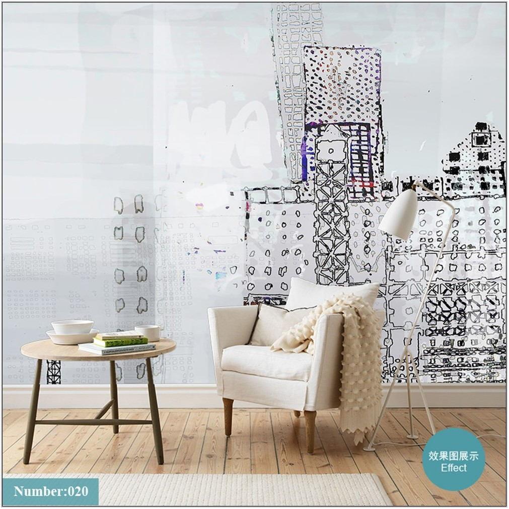 Living Room Wall Murals
