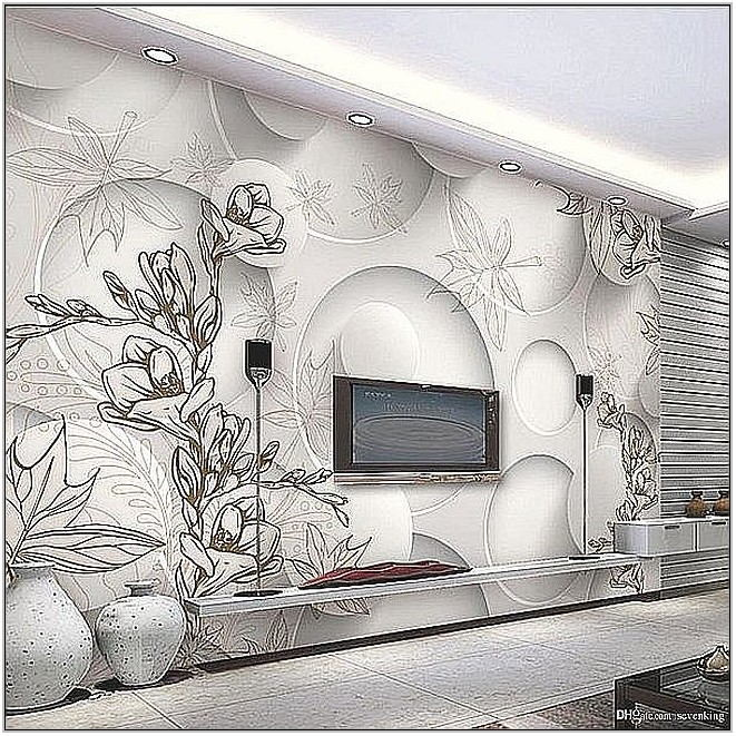 Living Room Wallpaper Murals