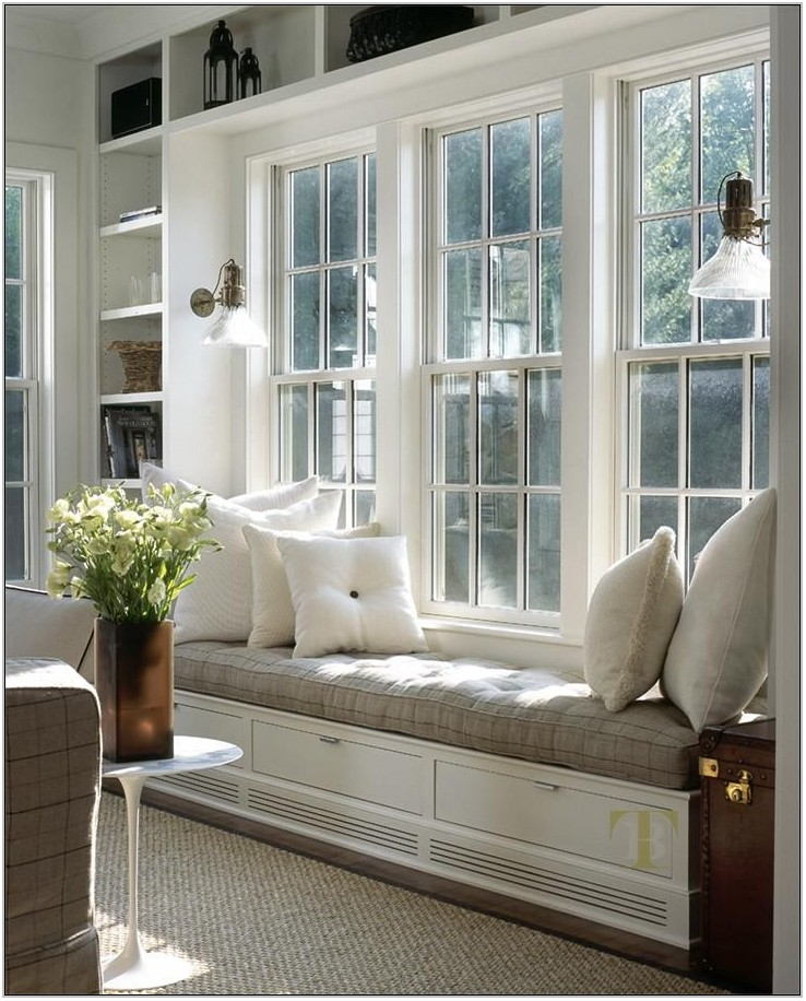Living Room Window Design