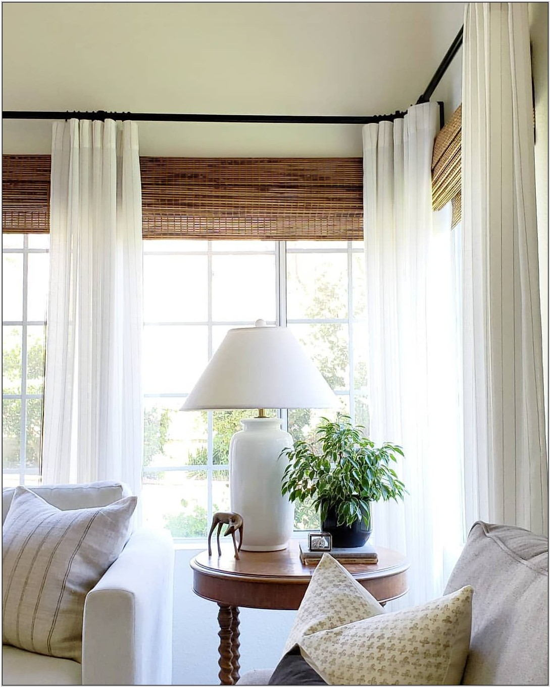 Living Room Window Treatments 2019