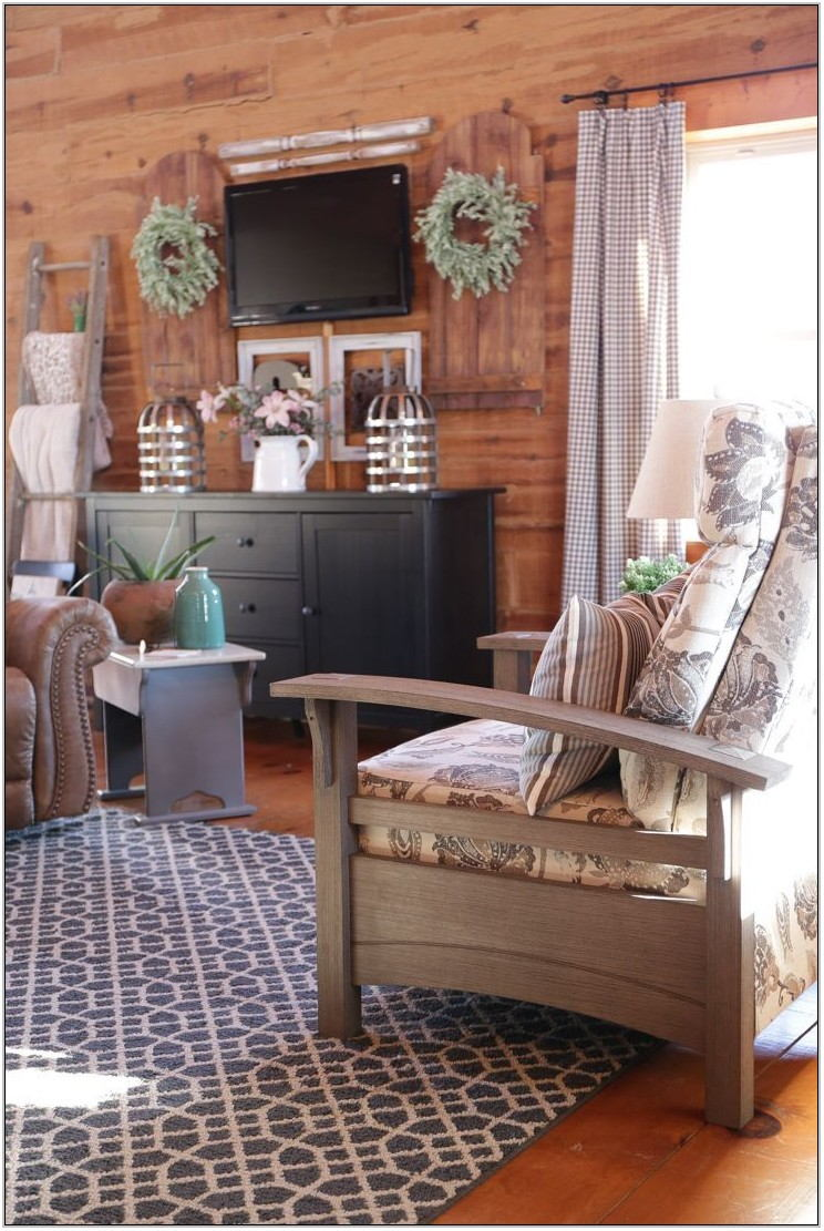 Log Cabin Style Living Room Furniture
