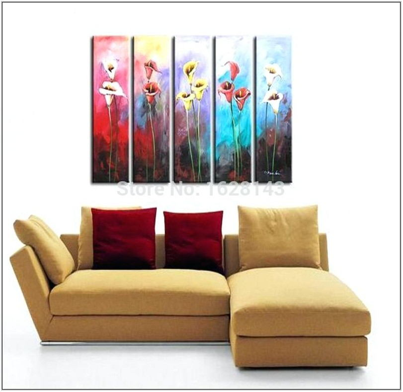 Long Paintings For Living Room