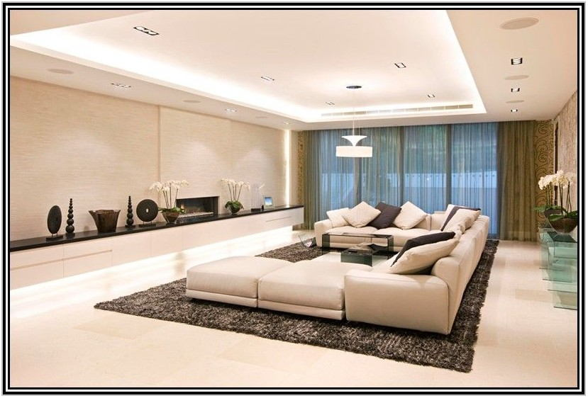 Low Ceiling Living Room Lighting