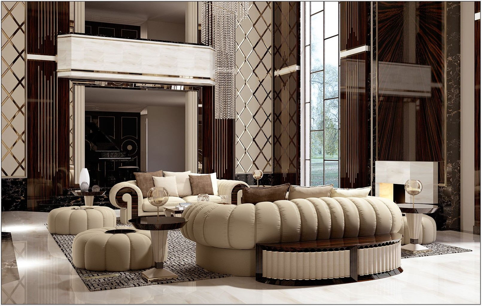 Luxury Furniture For Living Room