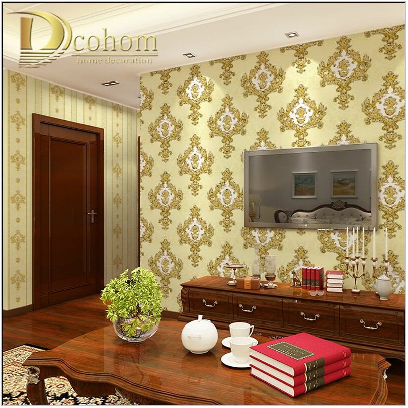 Luxury Living Room Wallpaper