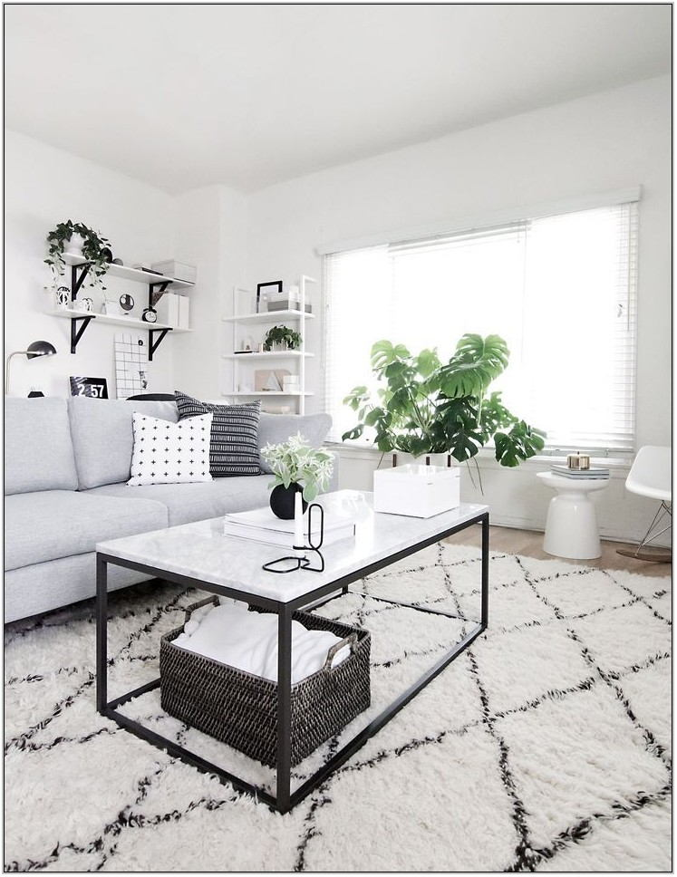 Marble Coffee Table Living Room