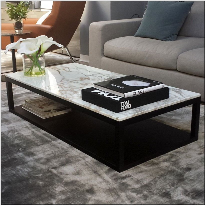Marble Top Living Room Tables