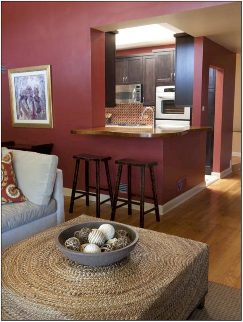 Maroon Living Room Decor Ideas