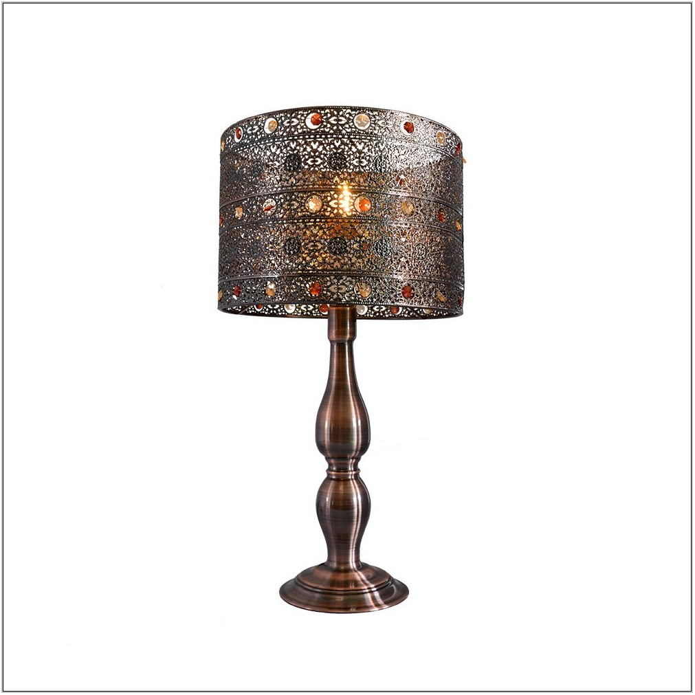 Metal Table Lamps For Living Room