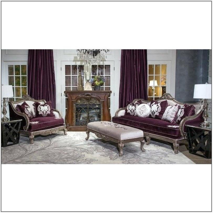 Michael Amini Furniture Living Room Sets