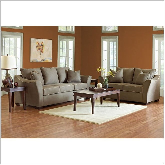 Microsuede Living Room Set
