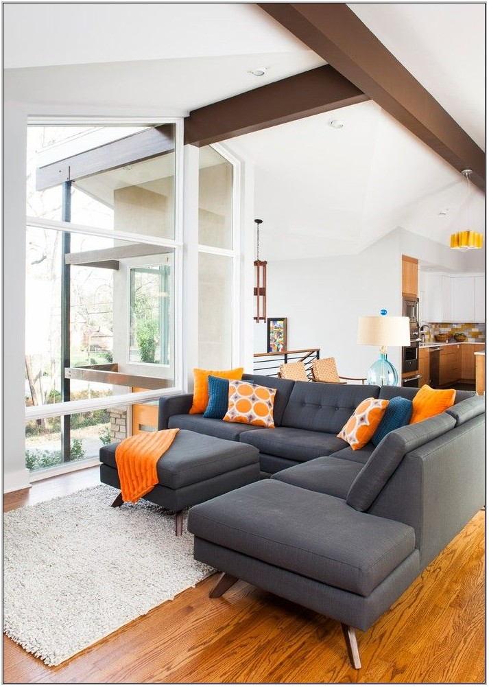 Mid Century Modern Living Room Rug