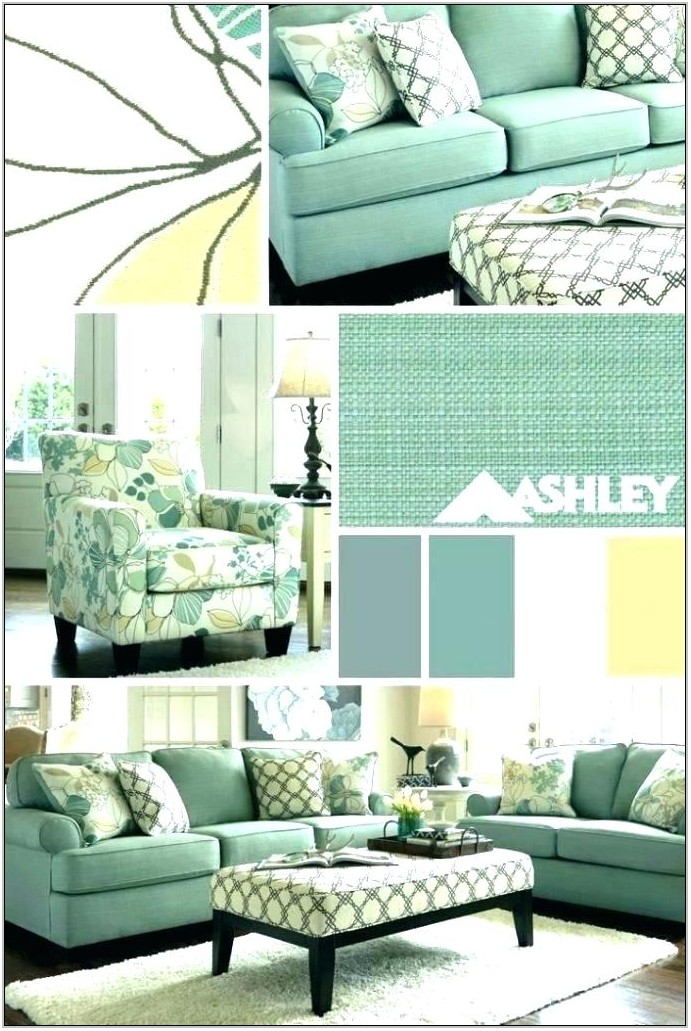 Mint Green Living Room