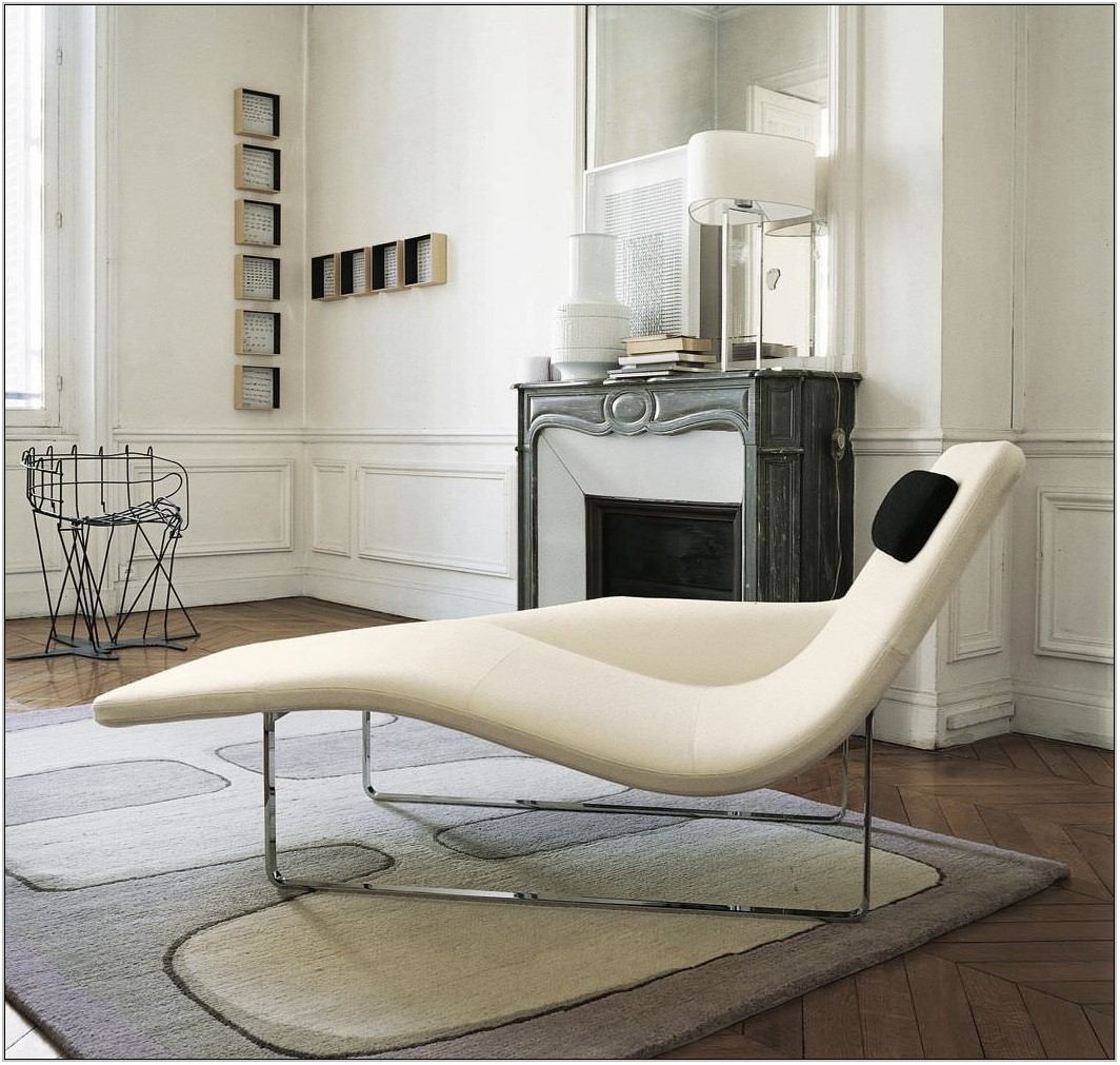Modern Chaise Lounge Chairs Living Room