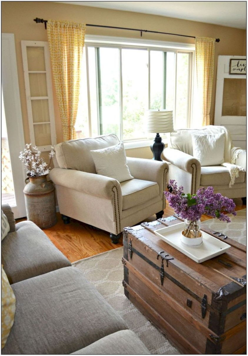 Modern Farmhouse Living Room Chairs