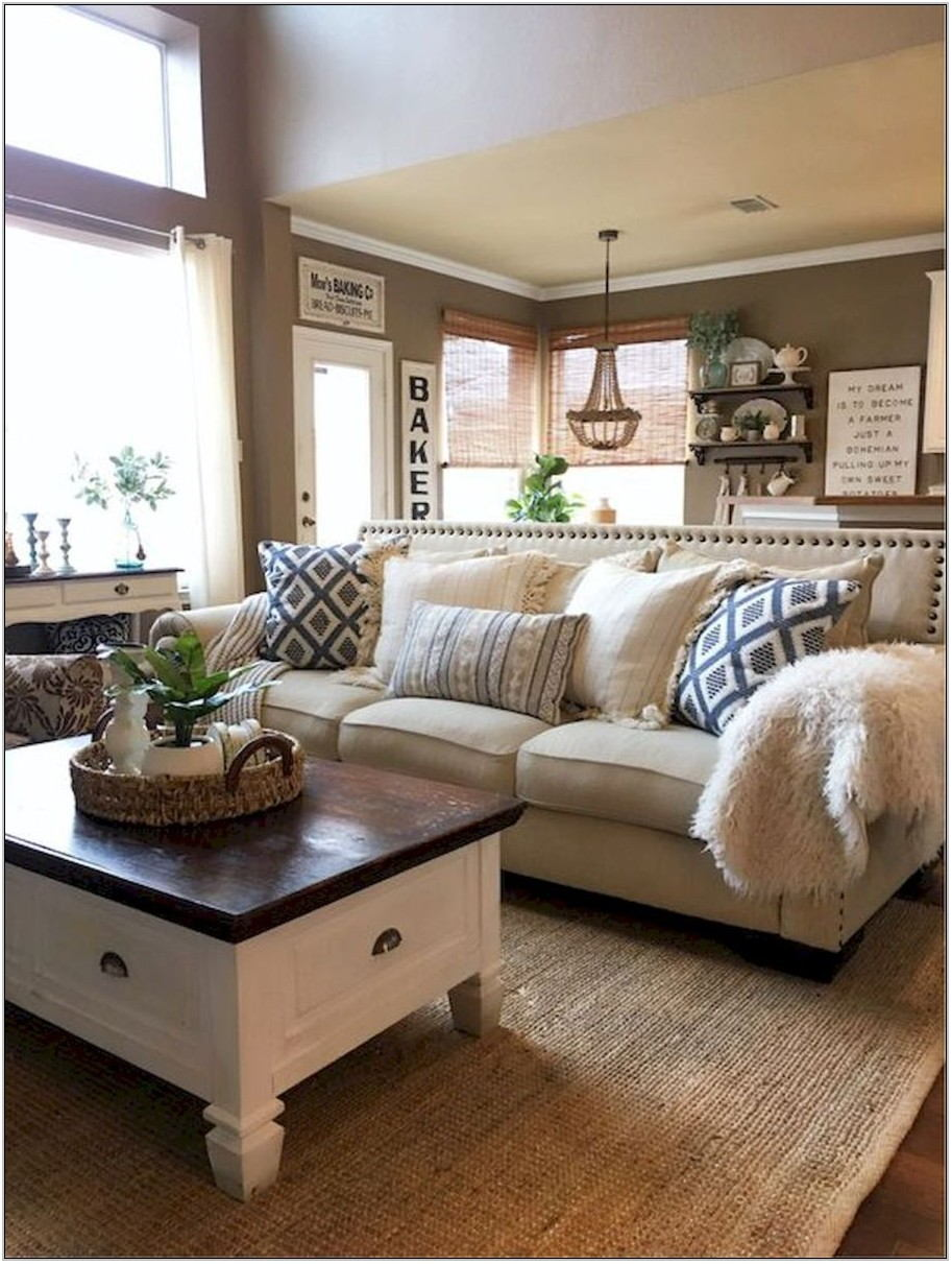 Modern Farmhouse Living Room Furniture Ideas