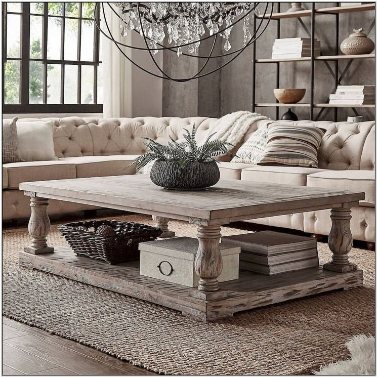 Modern Farmhouse Living Room Tables