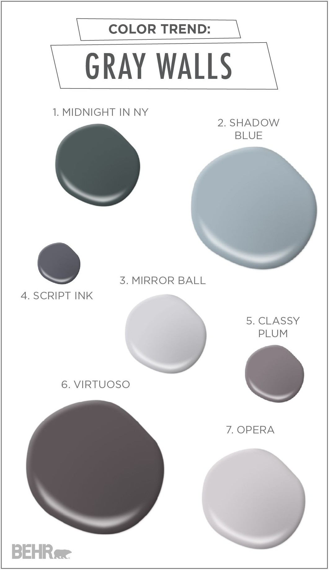 Modern Grey Paint Colors For Living Room