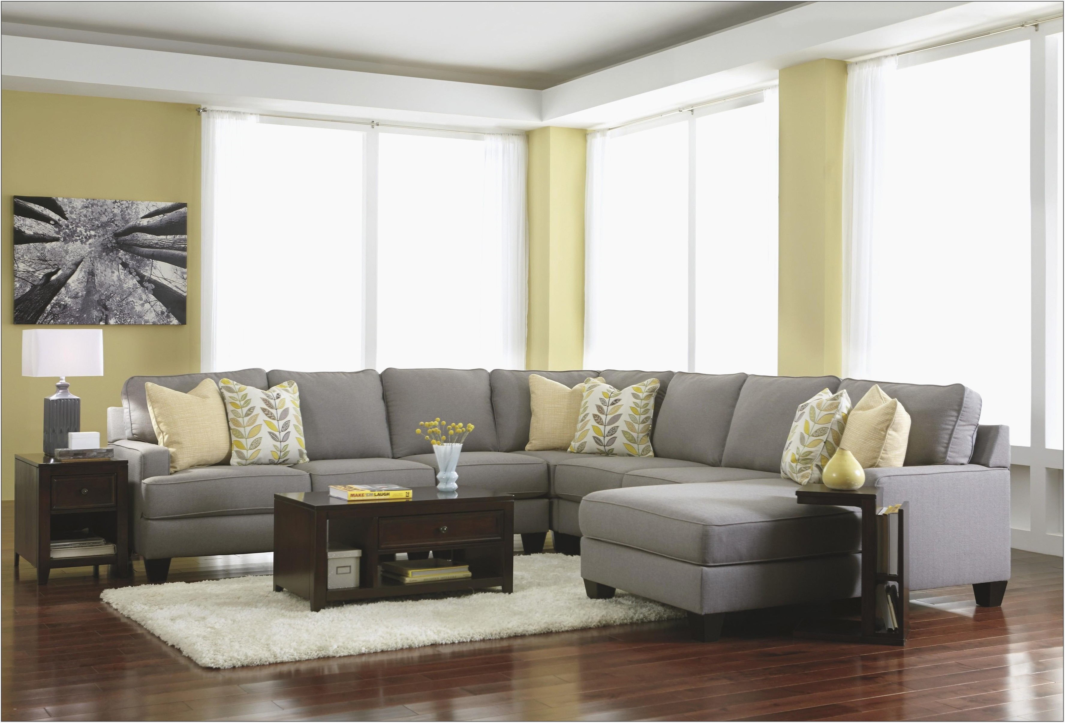 Modern Grey Sofa Living Room