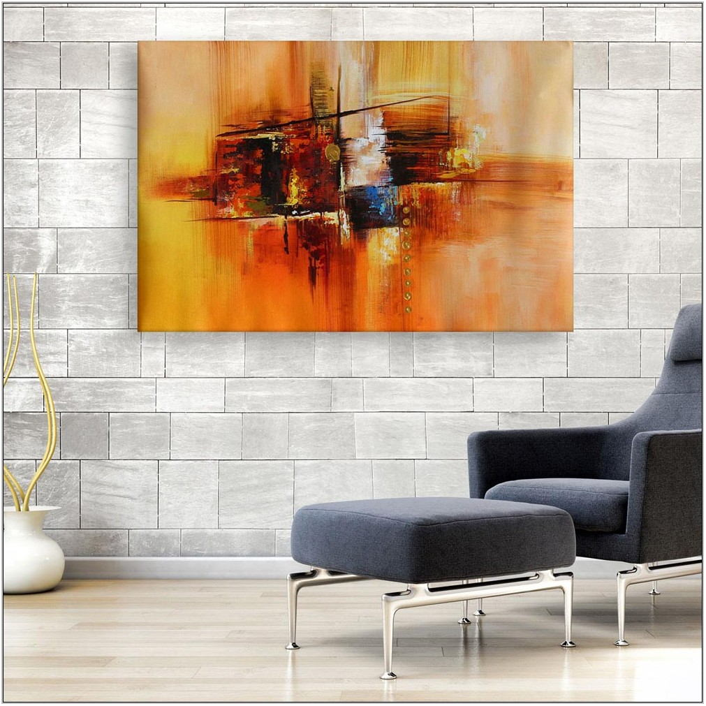 Modern Living Room Canvas Art