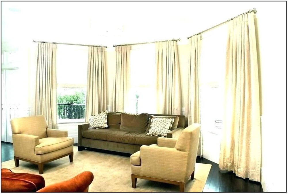 Modern Living Room Drapery Ideas