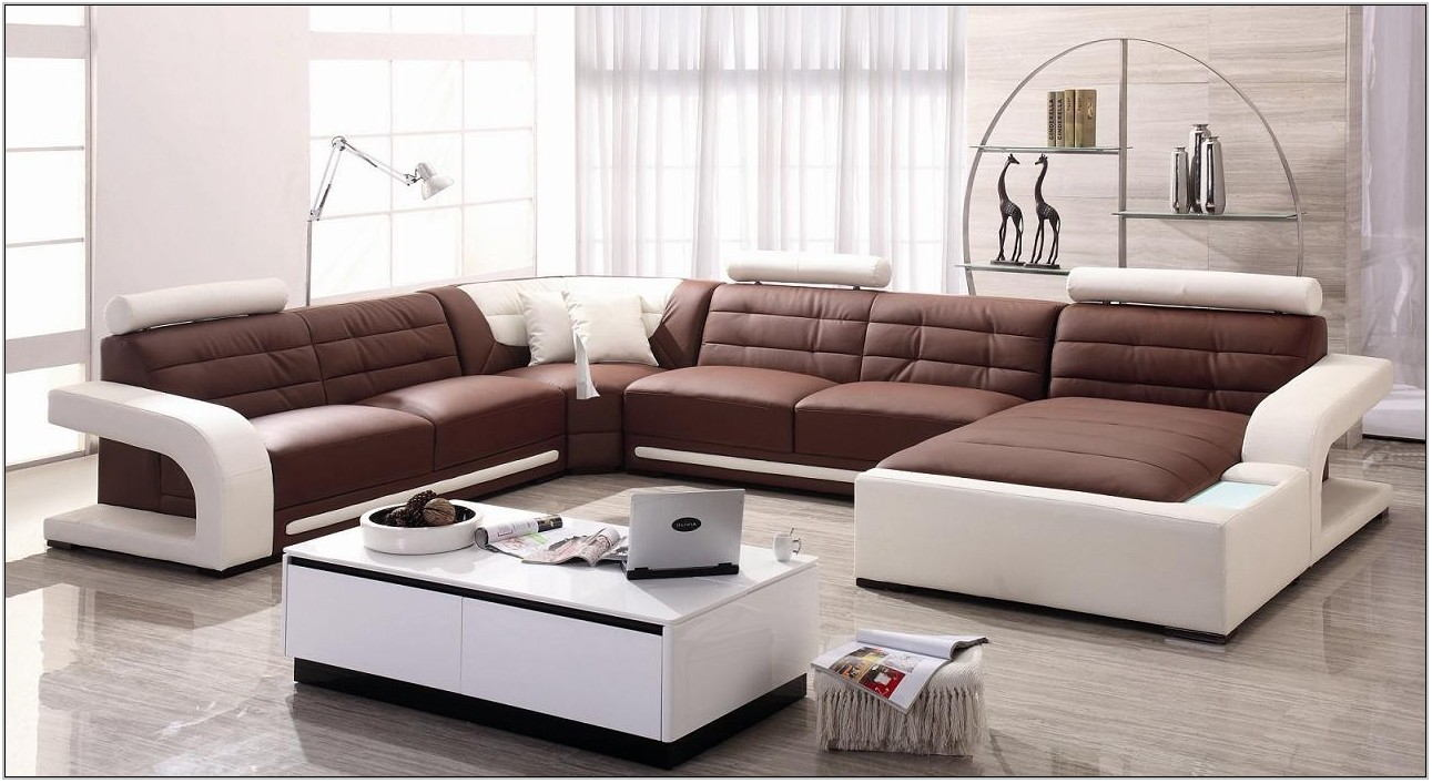 Modern Living Room Sectional Sofas