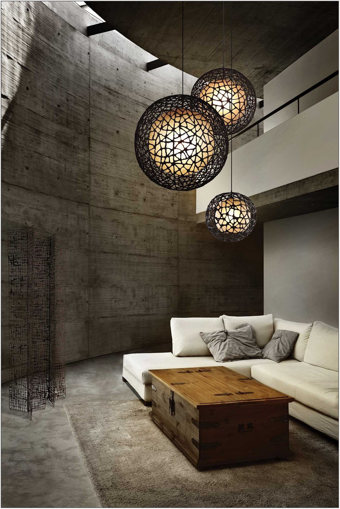 Modern Pendant Lighting Living Room