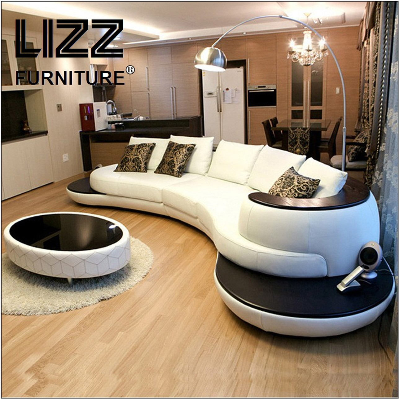 Modern Sectional Living Room