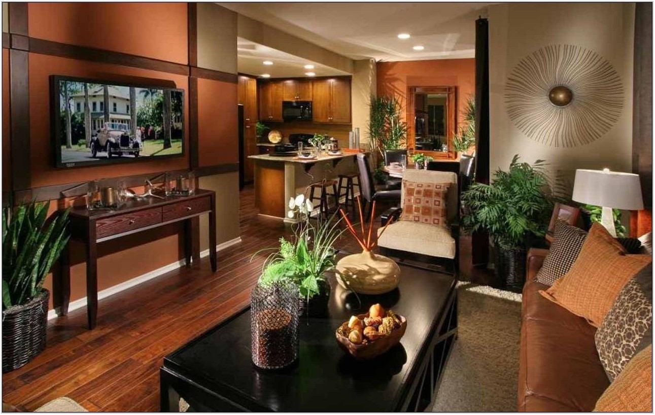 Modern Tuscan Living Room