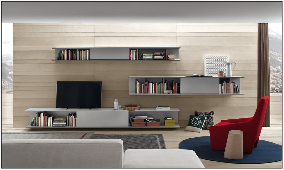 Modern Wall Cabinets For Living Room