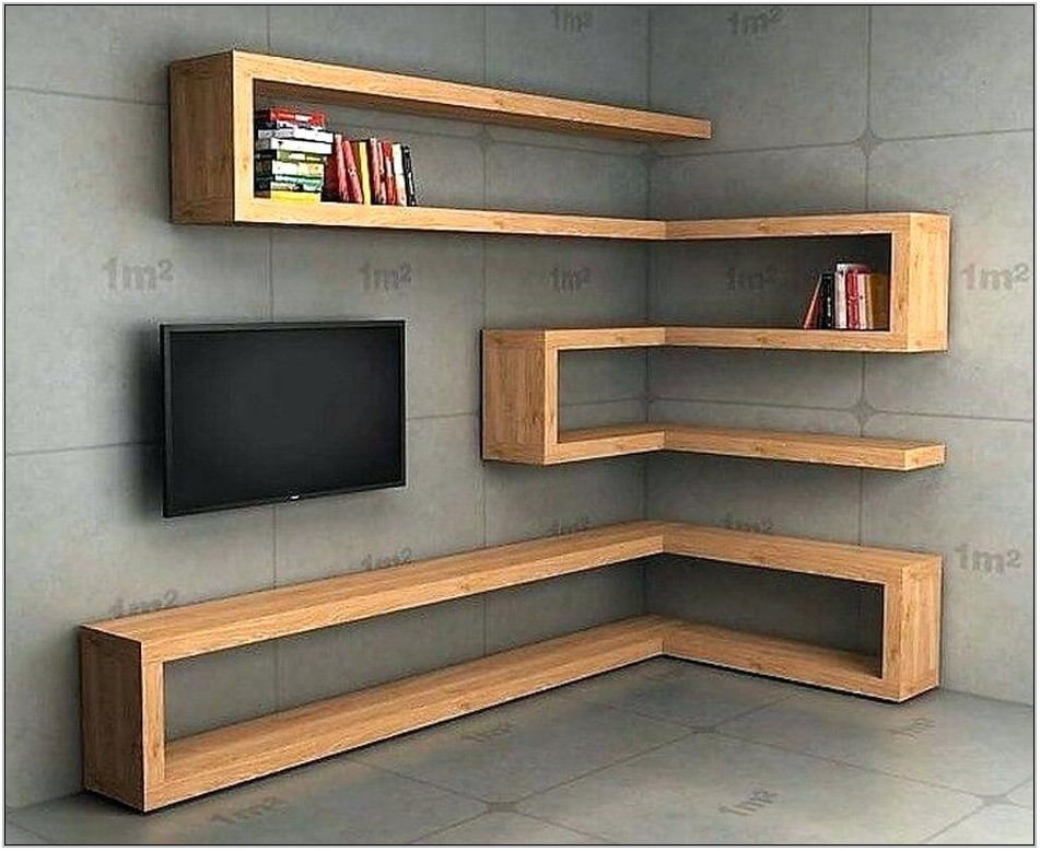 Modern Wall Shelves For Living Room