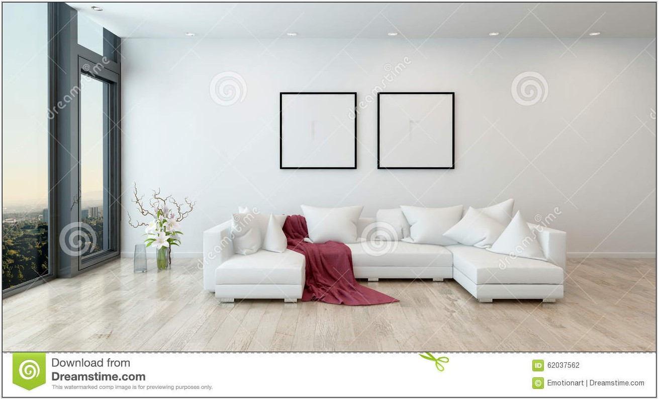 Modern White Sofa Living Room