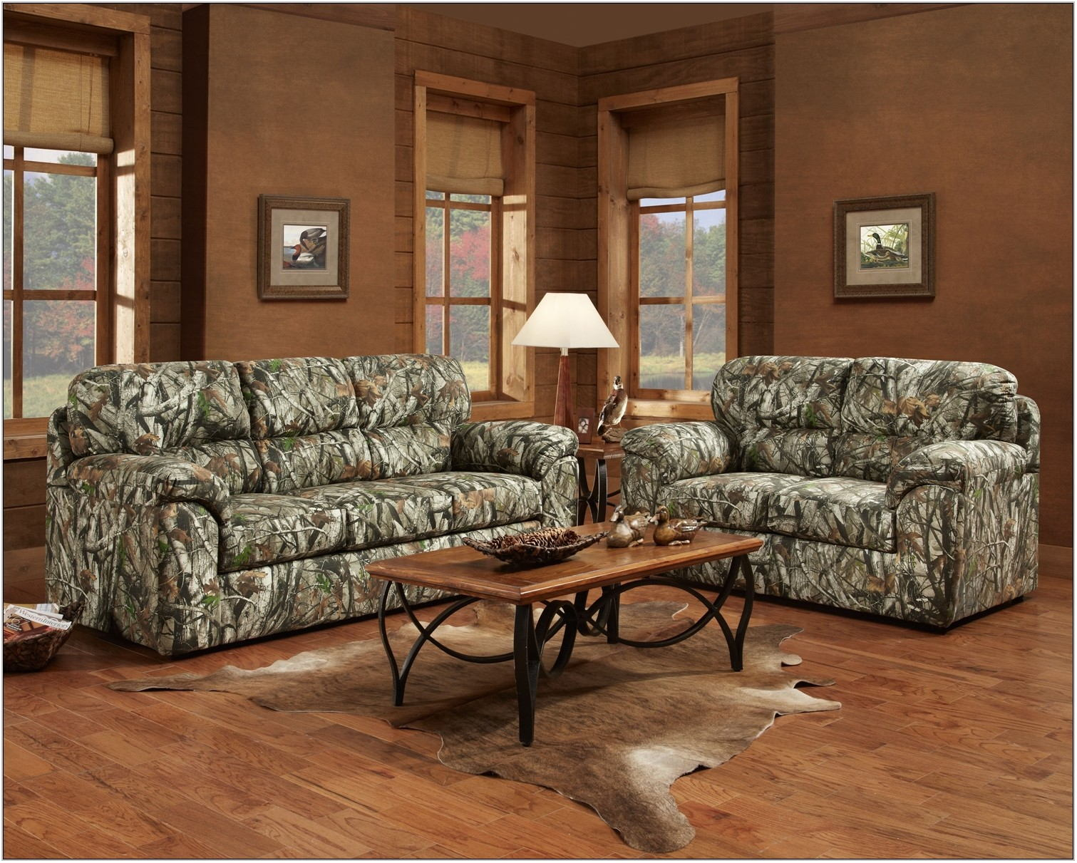 Mossy Oak Living Room Set