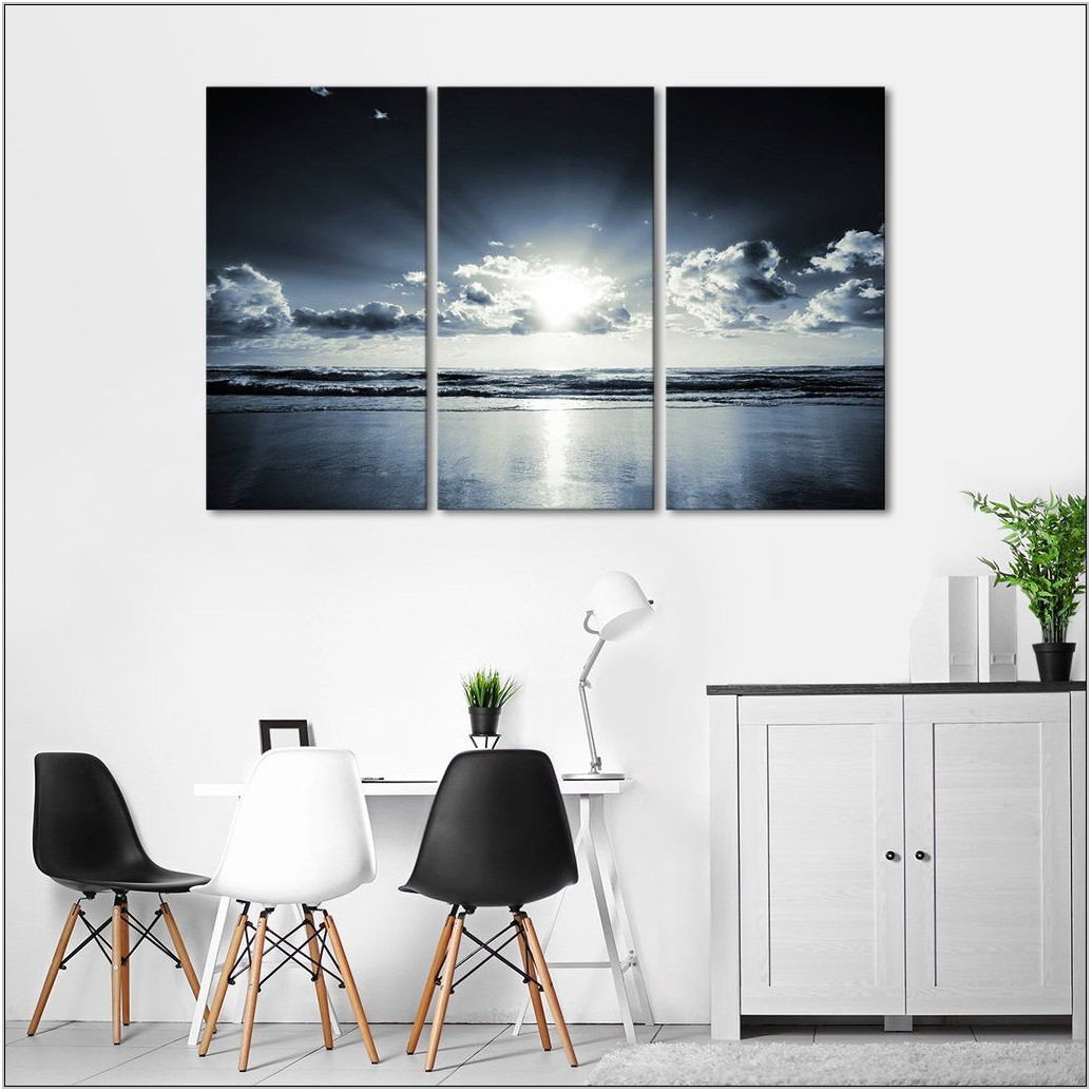 Multi Panel Wall Art For Living Room