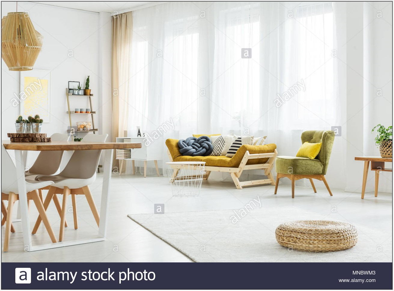 Mustard Chair Living Room