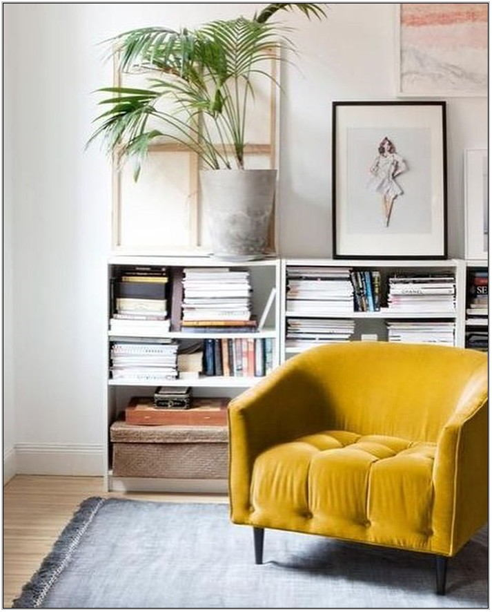 Mustard Living Room Chair