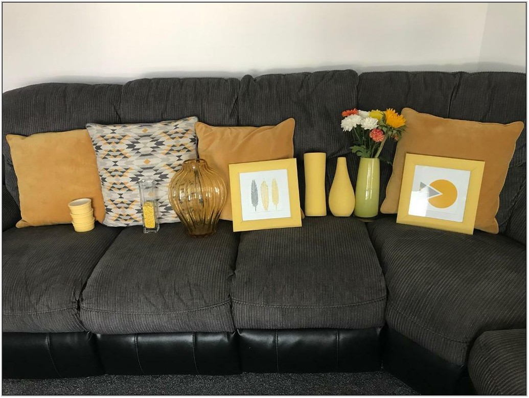 Mustard Living Room Decor