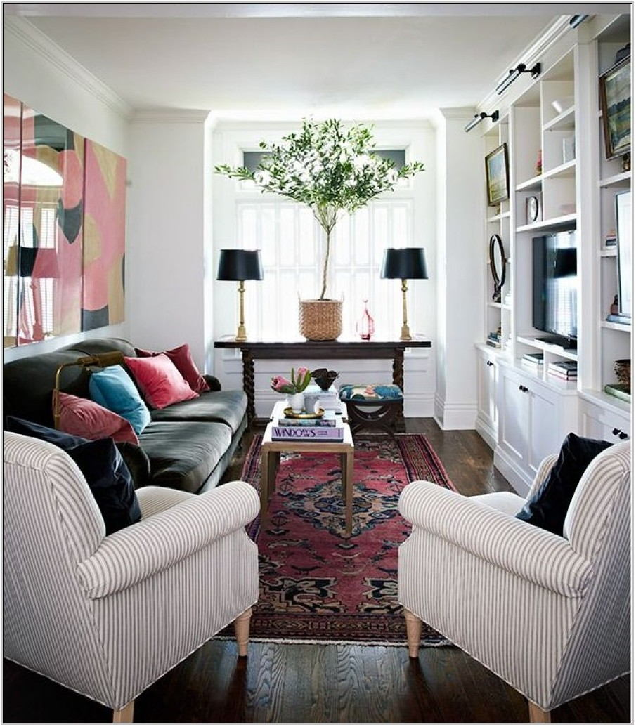 Narrow Living Room Design Ideas