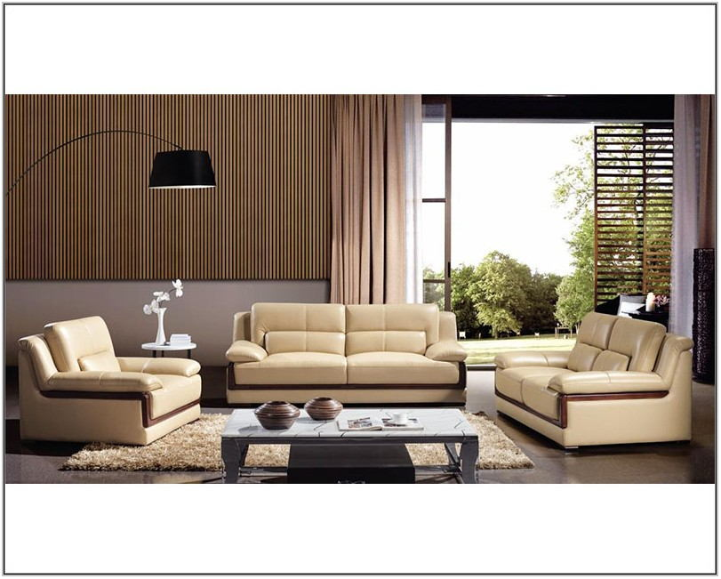 Natuzzi Leather Living Room Set