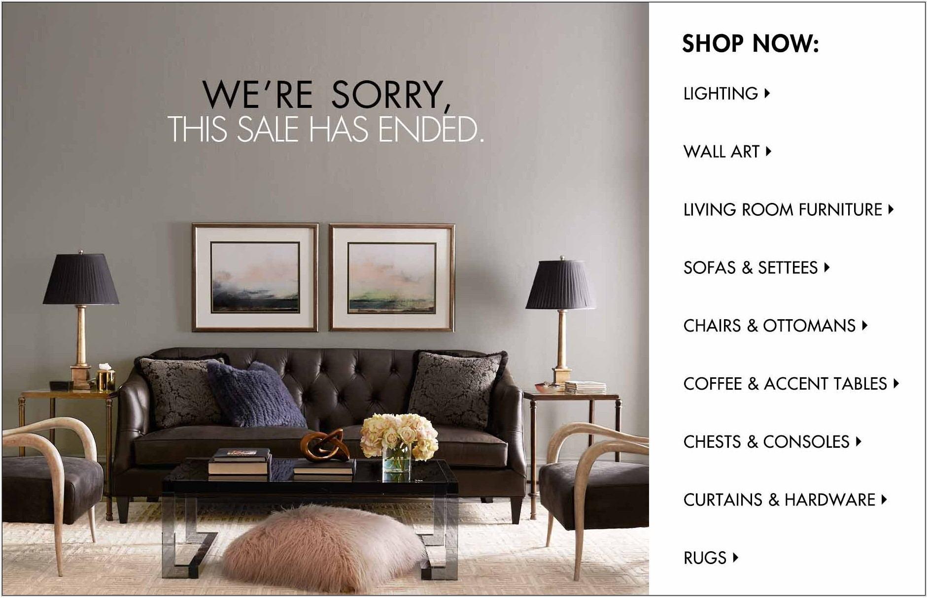 Neiman Marcus Living Room Furniture
