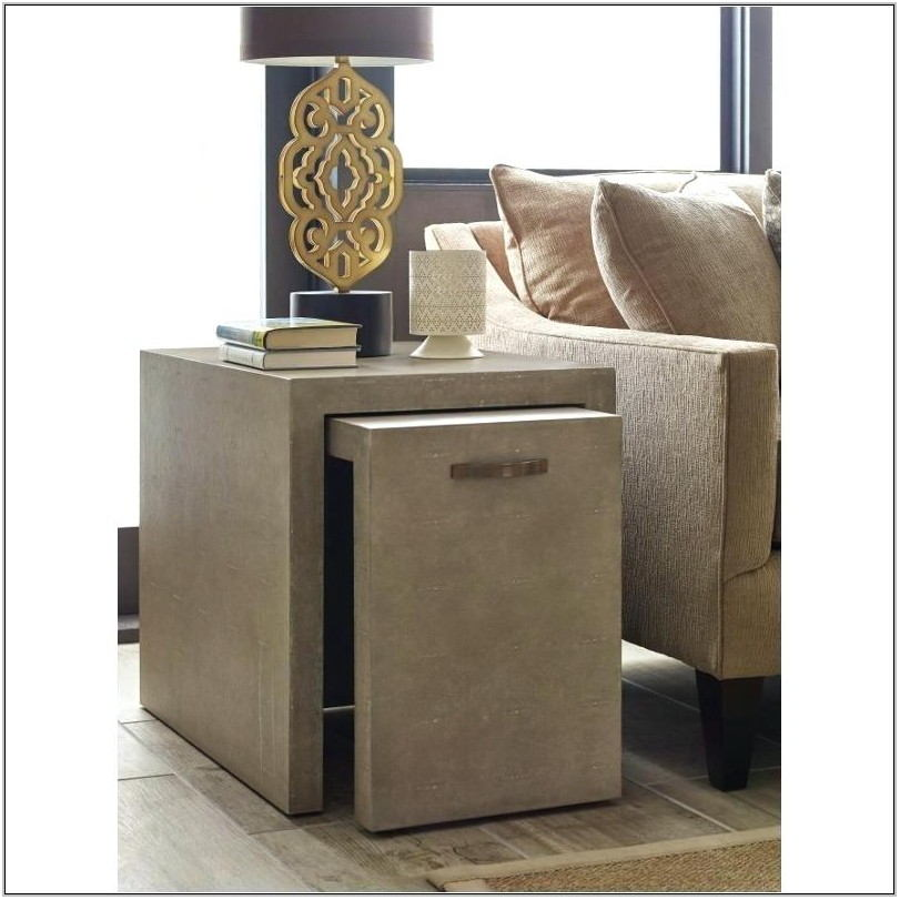 Nesting End Tables Living Room