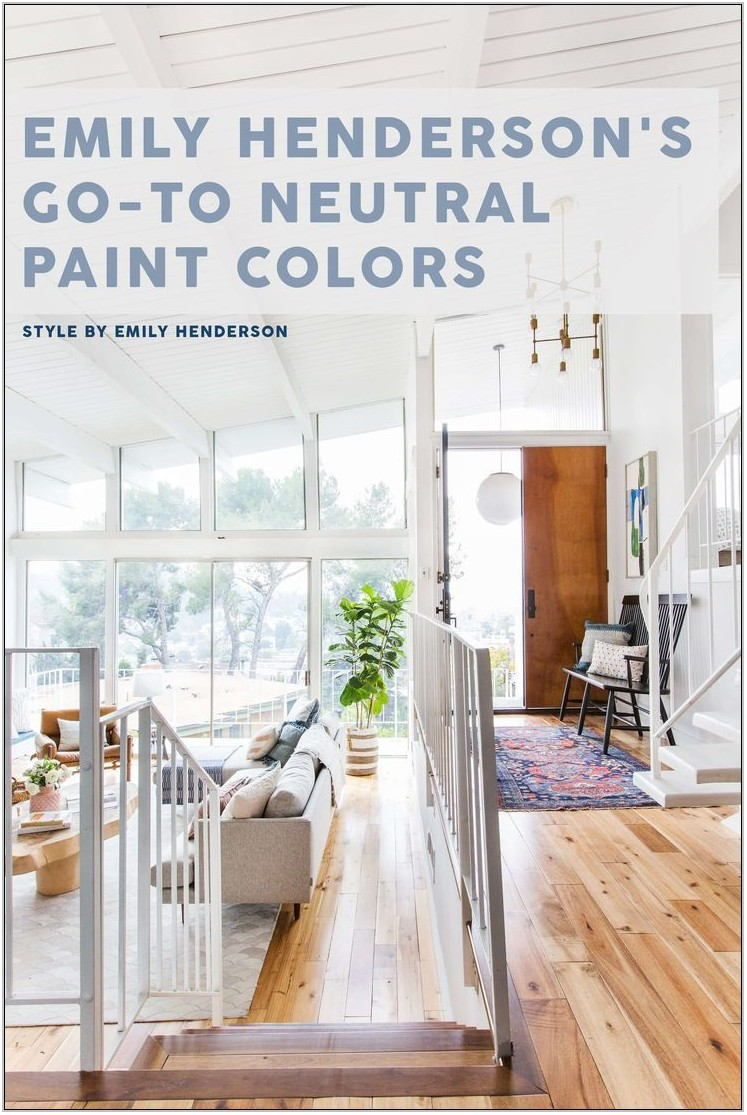 Neutral Colors To Paint Living Room