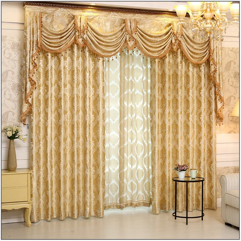 New Style Curtains For Living Room