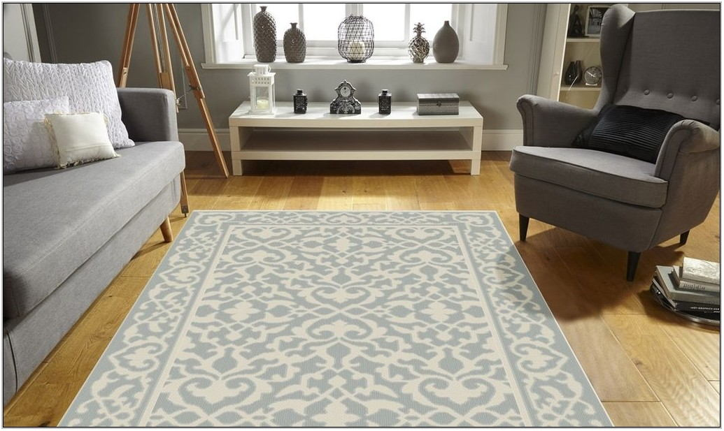 Non Slip Living Room Rugs