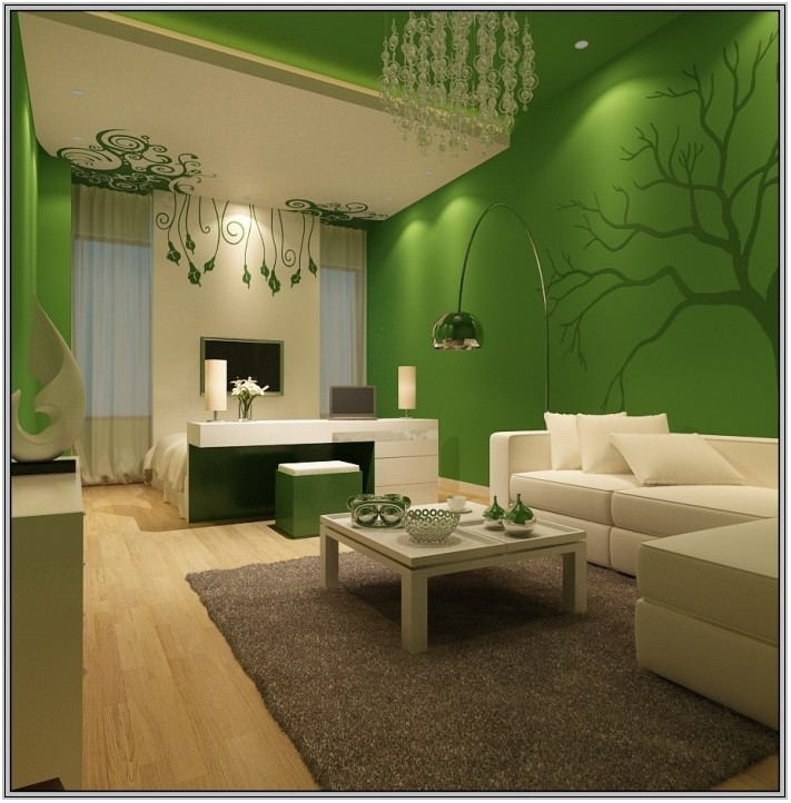Olive Green Paint For Living Room