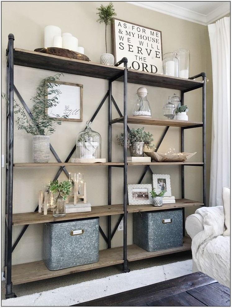 Open Shelving Units Living Room