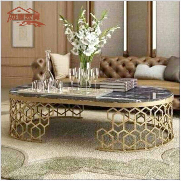 Oval Living Room Table