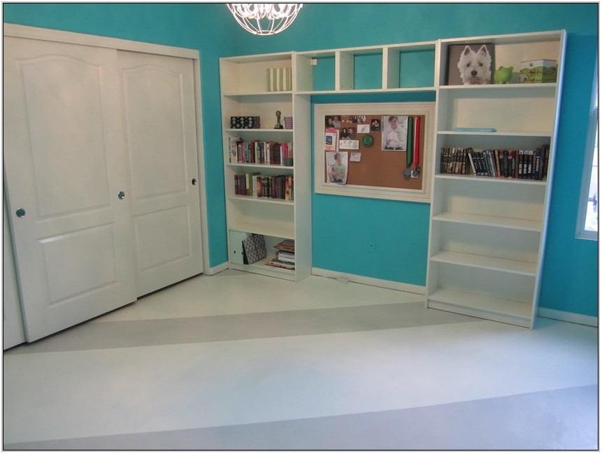 Painted Living Room Floors