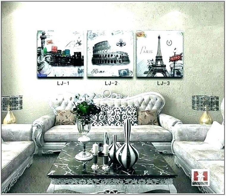 Paris Themed Living Room Decor