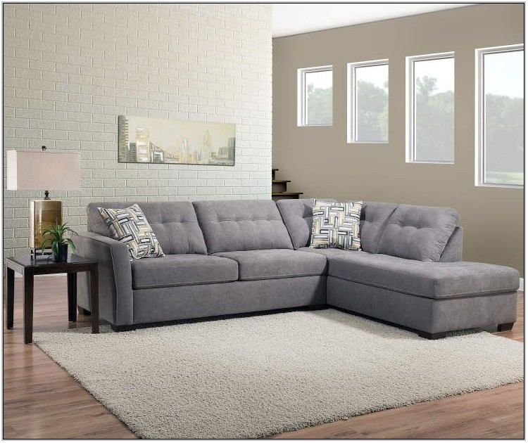Pasadena Gray Living Room Sectional
